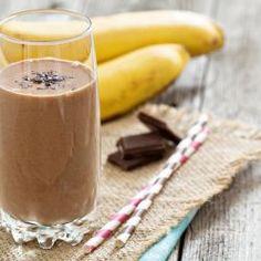 Funky Monkey (Chocolate Banana) Smoothie (Serves 1) WWPP=3 #breakfast #snack