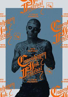 Behance :: Copenhagen Ink Festival in Climate change