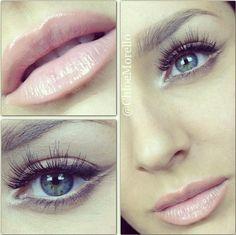 Soft makeup look <3