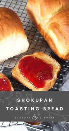 Delicious, classic Japanese sandwich bread, that is both soft and light, but with a lovely, spongy crumb. Makes great toast, sandwiches and French Toast!