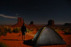 Night@Monument Valley