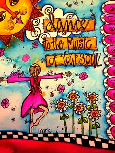 dance to the music by Laurie Miller Designs, via Flickr