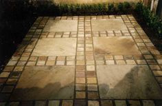 Stone sett pattern