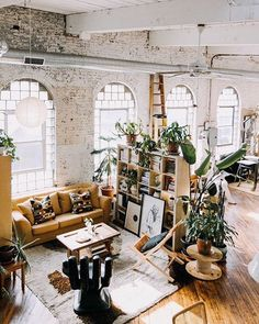 Loft of our dreams! #hesbystyle @apartmenttherapy