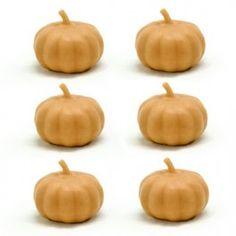 Molde para hacer jabones, velas y ambientadores Halloween, modelo 6 Mini Calabazas 3D. Disponibles en Gran Velada.