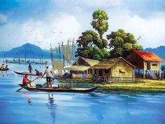 Travel Discover Beauty of the village Farm Paintings Scenery Paintings Indian Art Paintings Landscape Paintings Eiffel Tower Painting Composition Painting Puzzle Art Krishna Art Nature Drawing Farm Paintings, Scenery Paintings, Indian Art Paintings, Landscape Paintings, Village Scene Drawing, Art Village, Watercolor Landscape, Watercolor Art, Eiffel Tower Painting