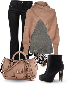 """Sweater scarf"" by marincounty on Polyvore"