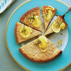 13 Best Coffee Cake Recipes: Lemon-Rosemary Coffee Cake