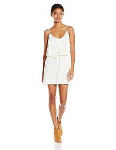 ONeill Juniors Madge Knit Tank Dress Naked Large >>> Check out the image by visiting the link.