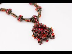 Кулон из бисера на основе из риволи.(Часть 1/4) - YouTube Jewelry Making Tutorials, Beading Tutorials, Crochet Necklace, Beaded Necklace, Beaded Bracelets, Beaded Jewelry, Handmade Jewelry, Jewelry Patterns, Beaded Embroidery