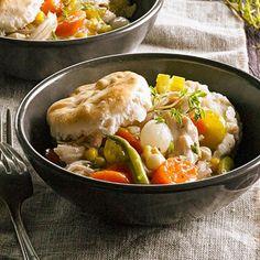 Post-Thanksgiving Pot Pie    #turkey #leftovers