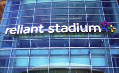 Reliant Stadium sign