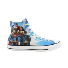 @Emily Crooks Justice League Converse All Stars