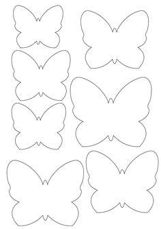 Vorlage Schmetterling Zum Ausdrucken  Templates