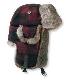 Mad Bomber Hat, Buffalo Plaid: Cold-Weather Hats | Free Shipping at L.L.Bean