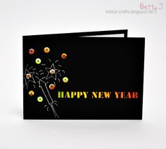 clean and simple happy new year cards silhouette projects silhouette cameo diy cards