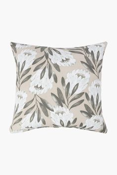Printed Protea Scatter Cushion Cover, 50x50cm - Shop New In - Home Dé Scatter Cushions, Throw Pillows, Home Decor Shops, Tapestry, Rustic, Printed, Cover, Fabric, Design