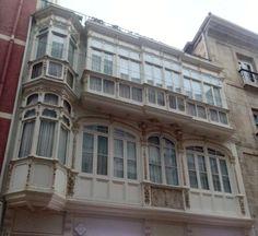 Miradores de Bilbao, calle Correo en el Casco Viejo