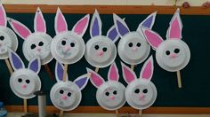 Köpük tabaktan tavşan maskesi Farm Activities