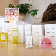 """""""We are THRILLED to announce we are now carrying #RODIN #beauty products at #STRIIIKE! These oils, soaps, and lip balm are a MUST HAVE this holiday season.…"""""""