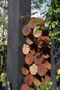Portfolio of Kids Garden Ideas | Kidsinthegarden Modern Bee Hotel