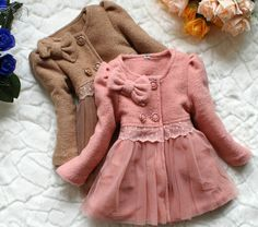 girl's coats new 2013 autumn winter dress coat kids clothing baby warm Wool Blends jacket for girls kids outerwear children wear-in Jackets . - fashion clothes women, clothes for sale, cheap online clothing *ad Baby Outfits, Kids Outfits, Little Girl Fashion, Kids Fashion, Fashion Coat, Jackets Fashion, Fashion Clothes, Fashion Dolls, Fashion Shoes