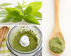 Thai Basil Pesto, made with cashews & coconut milk