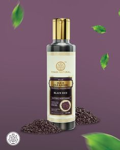 KHADI NATURAL™ Black Rice hair cleanser is able to retain hair's natural vitamins & minerals. It is rich in all the important nutrients that are needed to repair damaged hair. This Cleanser contains an important antioxidant- Vitamin E, which is useful in maintaining a natural pH balance of the scalp. It helps in providing strength to hair follicles. Its natural nutrients control hair fall. Hair Cleanser, Black Rice, Damaged Hair Repair, Antioxidant Vitamins, Natural Moisturizer, Natural Vitamins, Moisturiser, Handmade Soaps, Vitamins And Minerals