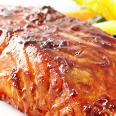 Orange Honey Salmon Steaks – Full of protein, healthy fat and Vitamin B to keep you full and energized for hours.