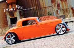 Hold on to your hat folks! New Zealand native Robin McDonald has built a monster '33 Hot Rod. Read more at www.factoryfive.com.
