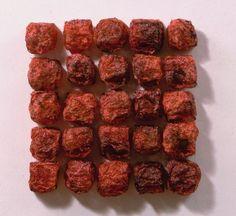 by Kiyomi Iwata Red Nova: in. Silk organza dyed, fabricated and painted Textiles, Fiber Art, Sculpture Art, Breakfast, Ethnic Recipes, Fabric, Silk Organza, Felting, Food