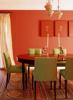 Amazing Color Combinations With Orange Interior Decor   Decorstate