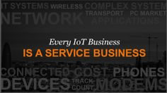 The Internet of Things | Services Not Sensors