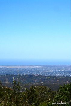 The view from Mount Lofty over Adelaide, South Australia.