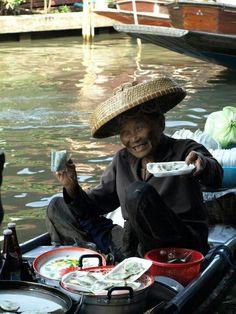 Floating market # Bangkok, Thailand
