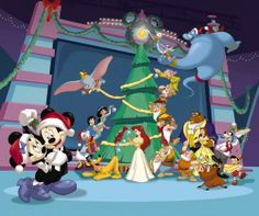 Disney Christmas Wallpaper High Definition with ID 429 on Celebration category in HD Wallpaper Site. Disney Christmas Wallpaper High Definition is one from many HD Wallpapers on Celebration category in HD Wallpaper Site. Mickey Mouse Christmas Tree, Disney Merry Christmas, Christmas Cartoons, Mickey Mouse And Friends, Magical Christmas, Disney Mickey Mouse, Minnie Mouse, Christmas Time, Disney Holidays