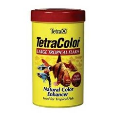 Tetra TetraColor Tropical Flakes - 2.2 oz - ON SALE! http://www.saltwaterfish.com/product-tetra-tetracolor-tropical-flakes-22-oz