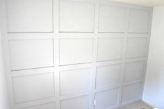 Learn how to make a board and batten accent wall in any room of your home! It is the showstopper in my home office, and I absolutely love the design it brings t… Installing Wainscoting, Accent Wall Bedroom, Master Bedroom, Accent Walls, Concrete Retaining Walls, Leather Wall, Board And Batten, Wood Square, Wood Trim