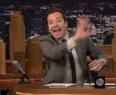 Jimmy Fallon being adorkable 10/15