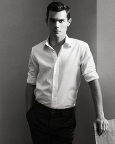 For me, I'm making spring all about the white shirt, like this classic beauty byDunhill (ss12)