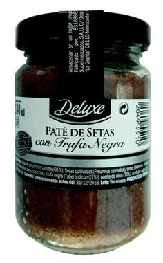 "Paté de setas con trufa negra ""Deluxe"""
