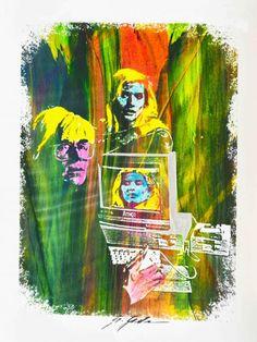 Giuliano Grittini Amiga Story 2, 2015 tecnica mista su carta, cm 65x50