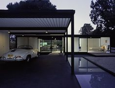Case Study House No. This house was designed by the renowned American architect Pierre Koenig who also designed the house in Case Study No. Richard Neutra, Palm Springs, Architecture Magazines, Interior Architecture, Interior Modern, Pierre Koenig, Modernisme, Mid Century House, Cabana