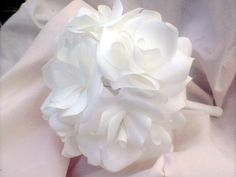 Free Shipping to US Customers 5 Simple White by FencePostFlowers, $34.75