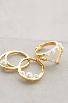Pearl Cove Ring - anthropologie.com