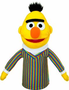 Gund Sesame Street Bert Hand Puppet Bert hand puppet is perfect for encouraging imaginative play Soft, huggable material built to famous GUND quality standards Surface-washable Ages 13 inch height cm) Puppets For Sale, Ty Toys, Sesame Street Characters, Sesame Street Party, Pbs Kids, Hand Puppets, Kids Store, Imaginative Play, Toy Boxes