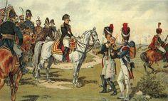 Napoleone con il suo staff