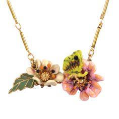 Collection La Vie des Fleurs http://shop.lesnereides.com/necklaces/3444-necklace-40cm-la-vie-des-fleurs-little-flowers.html