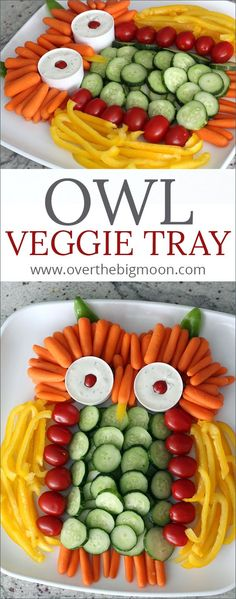 This Owl Veggie Tray This Owl Veggie Tray is such a fun. This Owl Veggie Tray This Owl Veggie Tray is such a fun extra This Owl Veggie Tray This Owl Veggie Tray is such a fun extra touch for any Fall gathering! Kids Party Finger Foods, Snacks Für Party, Fruit Party, Appetizers For Kids, Appetizer Recipes, Ladybug Appetizers, Appetizer Ideas, Party Appetizers, Vegetable Appetizers