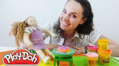 ПЛЕЙ ДО торт для куклы Доминики. Игры для детей. Развивающее видео.